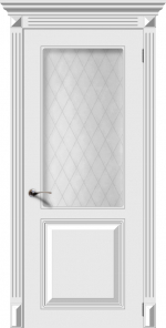 Двери Межкомнатные Дверное полотно остекленное Блюз