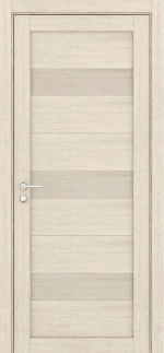 Двери Межкомнатные Дверное полотно Light ПГД 2120 Велюр капучино