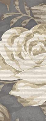 Керамическая плитка Lasselsberger Ceramics Бордюр Фиори Гриджо 1501-0100