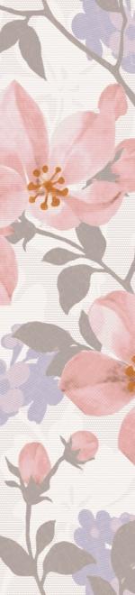 Керамическая плитка Lasselsberger Ceramics Натали бордюр 1503-0044 розовый