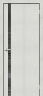 Двери Межкомнатные Браво-1.55 Bianco Veralinga mirox grey