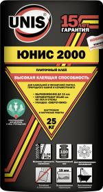 Строительные товары Строительные смеси Unis 2000