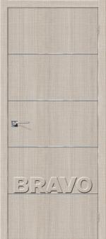 Двери Межкомнатные Порта-50А-6 Grey Crosscut