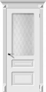 Двери Межкомнатные Дверное полотно остекленное Трио