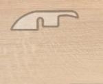 Подложка, порожки и все сопутствующие для пола Порожки Понижающий порог Balterio Дуб ваниль