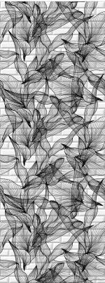 Стеновые панели ПВХ Таинственный сад 06620