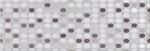 Керамическая плитка Eletto Настенная плитка Malwia Grey Geometria ректификат