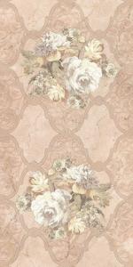 Керамическая плитка Belleza Декор Розмари коричневый