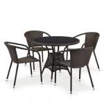Мебель Садовая мебель Набор мебели 4+1 искусственный ротанг T197ANS/Y137B-W51