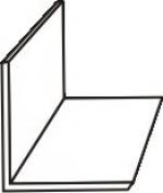 Плинтус Идеал Профиль угловой 40