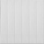Стеновые панели ПВХ Вагонка белая