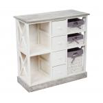 Мебель ЭкоДизайн Комод с семью ящиками HX15-310SN белый