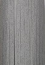 Плинтус Идеал Пластиковый плинтус с кабель-каналом Ясень Серый 253