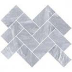 Керамическая плитка Vitra Декор Шеврон Дымчатый Серый K946570LPR