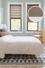Товары для дома Домашний текстиль Ролло День-Ночь Коричневый