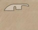 Подложка, порожки и все сопутствующие для пола Порожки Понижающий порог Balterio Дуб амбиенс
