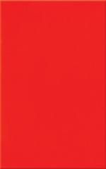 Керамическая плитка М-Квадрат Моноколор красная 120042