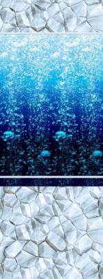 Стеновые панели ПВХ Атлантика 05720