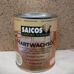 Паркетная химия Saicos Масло с твердым воском Hartwachsol матовое бесцветное 3305