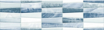 Керамическая плитка Шахтинская плитка (Unitile) Аника голубая бордюр 01