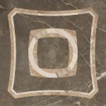 Керамогранит ColiseumGres Декор Серый интарсио