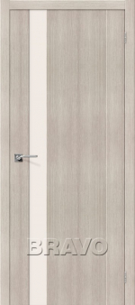 Двери Межкомнатные Порта-11 Cappuccino Veralinga СТ-Magic Fog