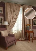 Товары для дома Домашний текстиль Комплект штор Plain Lux-SH PL123909673