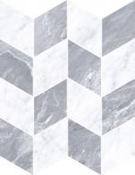 Керамическая плитка Vitra Декор Шеврон Холодный Микс K946654LPR