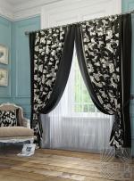 Товары для дома Домашний текстиль Рубе (черно-белый) 950006