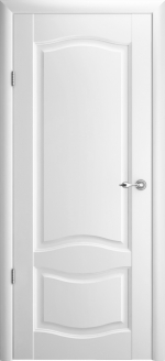Двери Межкомнатные Лувр-1 белый