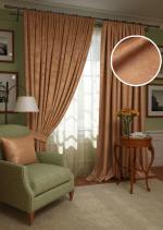 Товары для дома Домашний текстиль Комплект штор Plain Lux-SH PL123909656