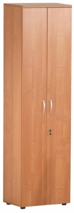 Мебель Витра Шкаф для одежды малый с замком Альфа 61.43 Ольха