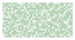 Стеновые панели Листовые Мозаика Зеленая