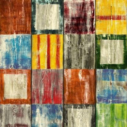 Изображение Самоклеющаяся пленка D-C-Fix Декор BAHIA (квадраты)