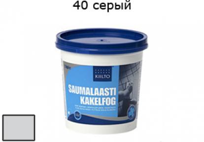 Изображение Строительные товары Строительные смеси КИИЛТО Затирка для швов №40 серый