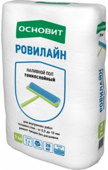 Изображение Строительные товары Строительные смеси Наливной пол РОВИЛАЙН  Т-46