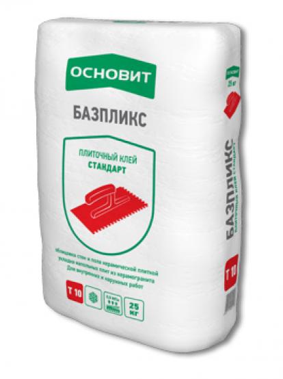 Изображение Строительные товары Строительные смеси Плиточный клей БАЗПЛИКС Т-10