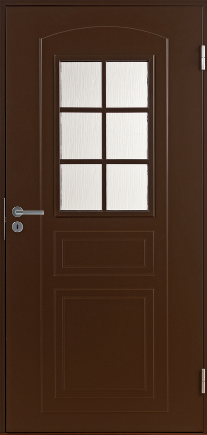 Изображение Двери Входные B0020 Темно-коричневая