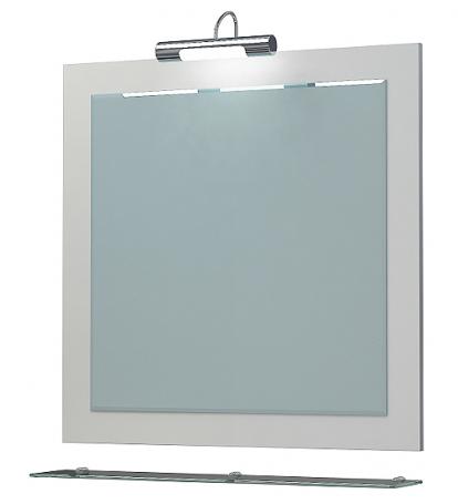 Изображение Мебель Мебель для ванной Зеркало Кватро 70С белое