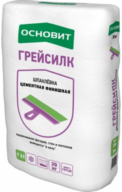 Изображение Строительные товары Строительные смеси Шпатлевка ГРЕЙСИЛК Т-31