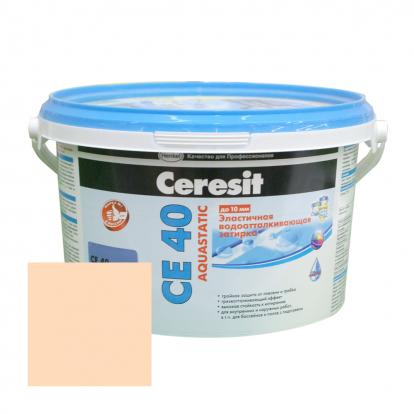 Изображение Строительные товары Строительные смеси ЦЕРЕЗИТ CE 40 Aquastatic персик (2 кг)