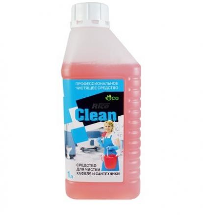 Изображение Товары для дома Бытовая химия Средство для чистки кафеля и сантехники Rico Clean 1л (1/8)