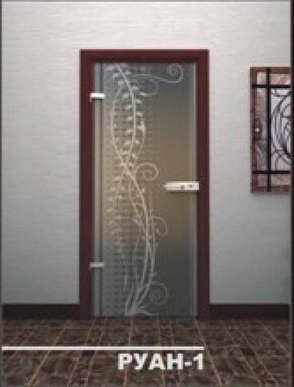 Изображение Двери Межкомнатные Руан-1 прозрачная