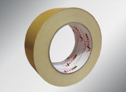 Изображение Подложка, порожки и все сопутствующие для пола Двухсторонний скотч Скотч двухсторонний 50мм*25м РVC (на текстильной основе)