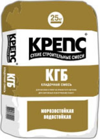 Изображение Строительные товары Строительные смеси КРЕПС КГБ зимний (25 кг)