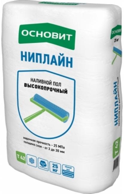Изображение Строительные товары Строительные смеси Наливной пол НИПЛАЙН Т-42