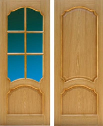 Изображение Двери Межкомнатные Астория с белым стеклом