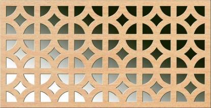 Изображение Стеновые панели Перфорированные АльбертаБукПД-33