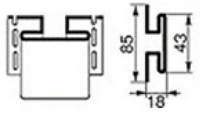 Изображение Для дачи Отделка стен H-профиль
