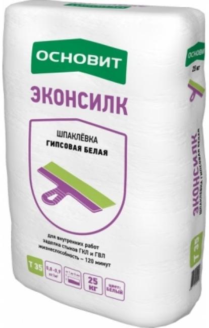 Изображение Строительные товары Строительные смеси Шпатлевка ЭКОНСИЛК Т-35